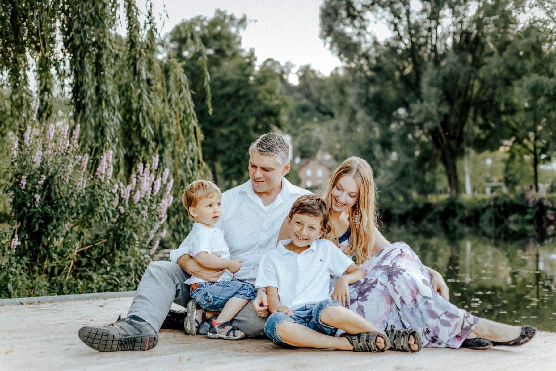 Familien Shooting im Brenzpark, Heidenheim
