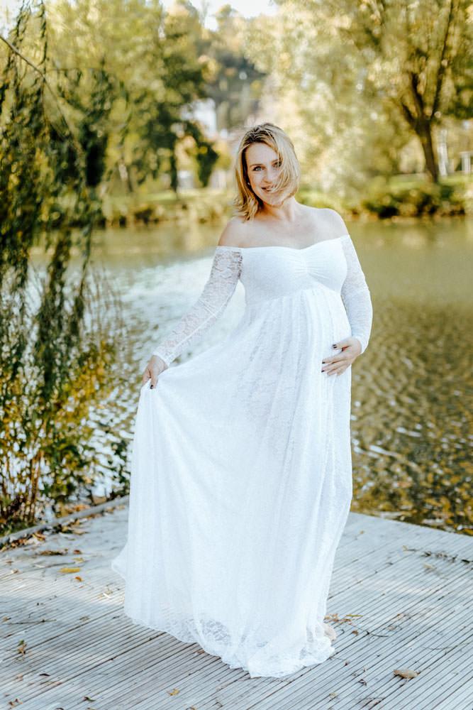 Babybauch Shooting in der Schwangerschaft